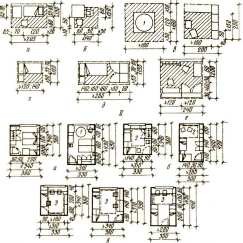 2а жилые комнаты