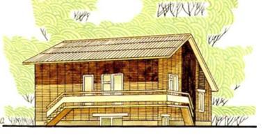 Одноквартирный четырехкомнатный жилой дом в пос. Софьино Московской области — индивидуальный проект (жилая площадь 60,1 м2, общая — 81,9 м2)