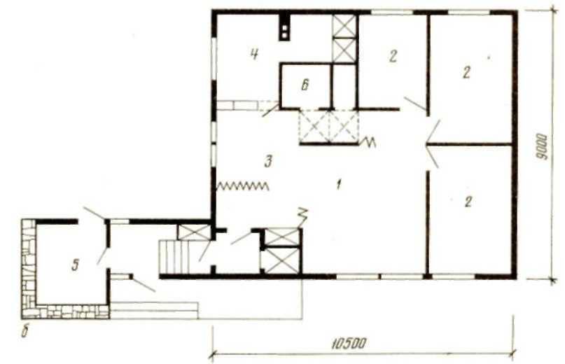 Типовой Проект Дома Серии 83