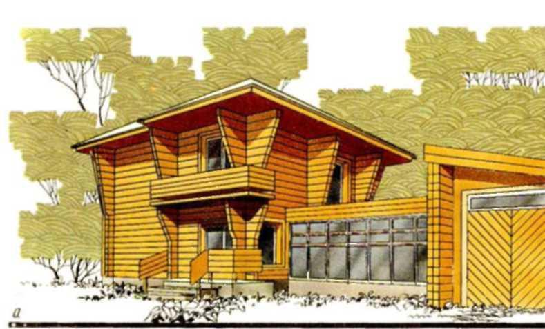 Жилой дом в с. Дмитровка Приморского кран (жилан площадь 56,7 м2, общая — 107,6 м2)